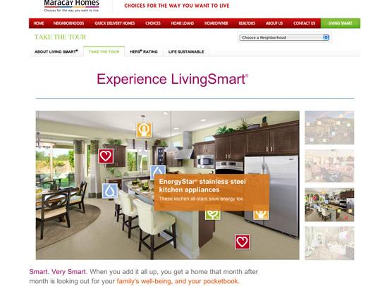 Etainia maracay homes living smart for Smart living homes